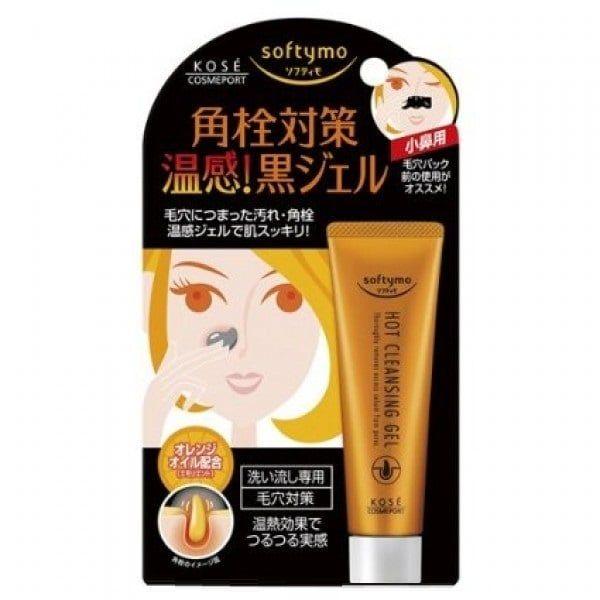 Gel lột mụn Kose Softymo Hot Cleansing Gel của Nhật