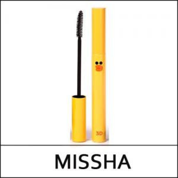 Mascara 3D Missha làm cong và dày mi  2