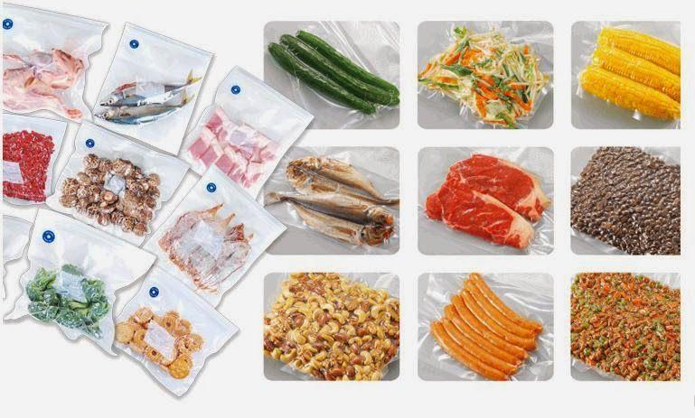 Máy hút chân không hút mạnh mẽ giúp bạn bảo quản thức ăn tăng gấp 3 lần, thức ăn tươi ngon, được giữ lâu hơn