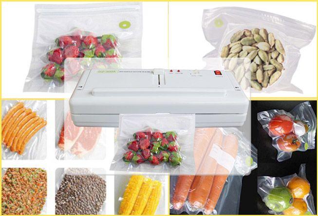 Máy hút chân không DZ-300A giúp tăng khả năng bảo quản thực phẩm được lâu hơn bình thường