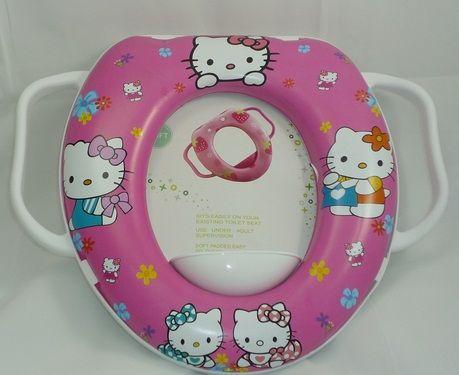 Miếng lót bồn cầu cho bé Hello Kitty xinh xắn, dễ thương