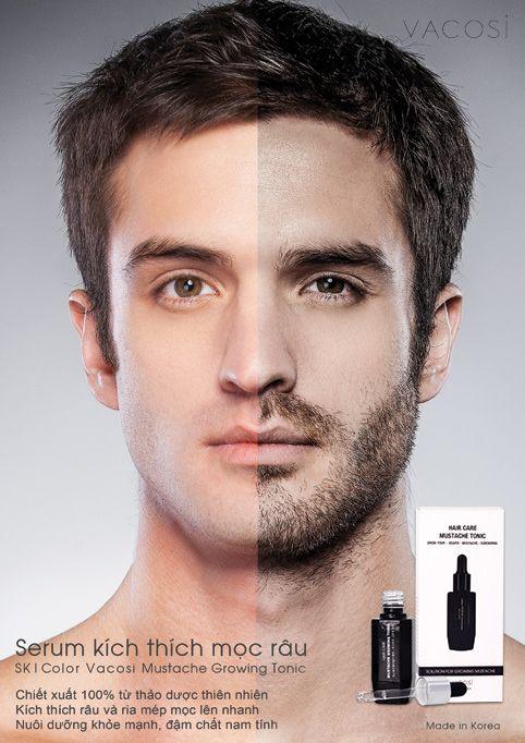 Sản phẩm kích thích mọc râu SK|Color Vacosi tăng cường phục hồi nang râu, và tăng cường râu hiệu quả