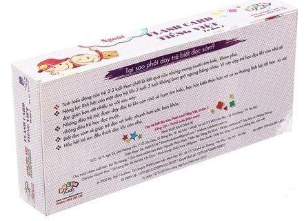 Thẻ học Flash card thông minh giúp phát triển toàn diện tư duy, trí thông minh và trí nhớ cho trẻ