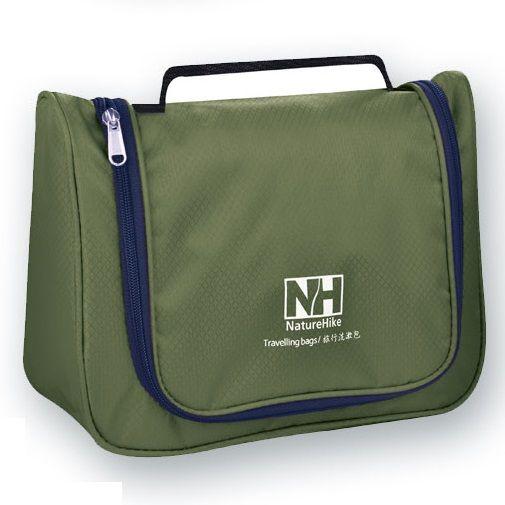 Túi đựng mỹ phẩm Naturehike chống nước màu xanh quân đội cá tính