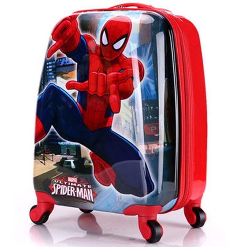 Vali kéo trẻ em Spider Man hình chữ nhật 2
