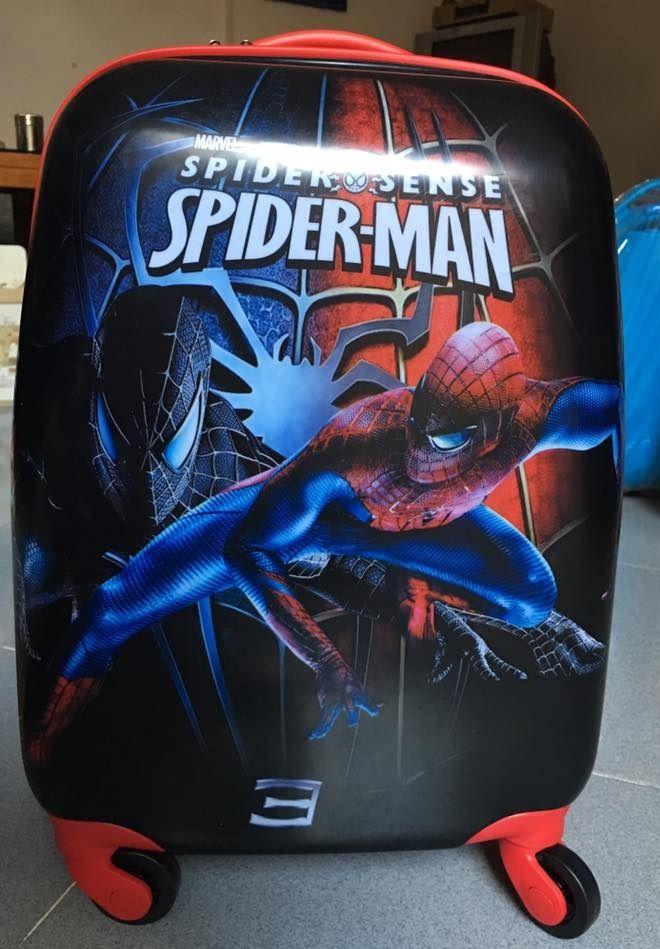 Vali kéo trẻ em Spider Man hình chữ nhật 3