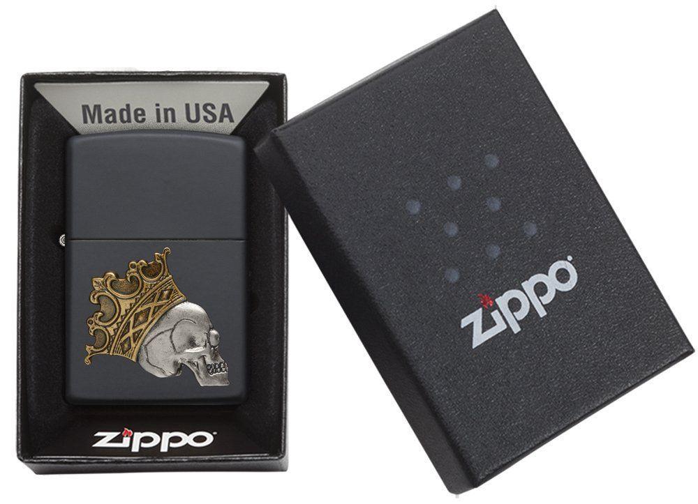 Các thành phần cấu tạo nên chiếc bật lửa Zippo Black Matte Emblem 29100 đều được nghiên cứu kỹ lưỡng và tỉ mỉ trước khi đưa vào sản xuất