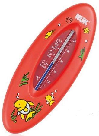 Đo nhiệt độ nước tắm Nuk màu đỏ