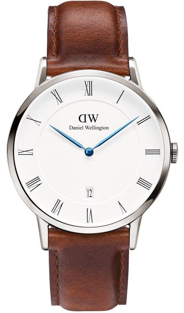 Đồng hồ Daniel Wellington Dapper St.Mawes Unisex 1120DW  mặt số La Mã sang trọng, có cửa sổ báo lịch ngày tiện dụng