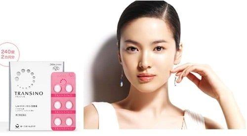 Transino Whitening cung cấp các dược chất quan trọng cho làn da khỏe đẹp
