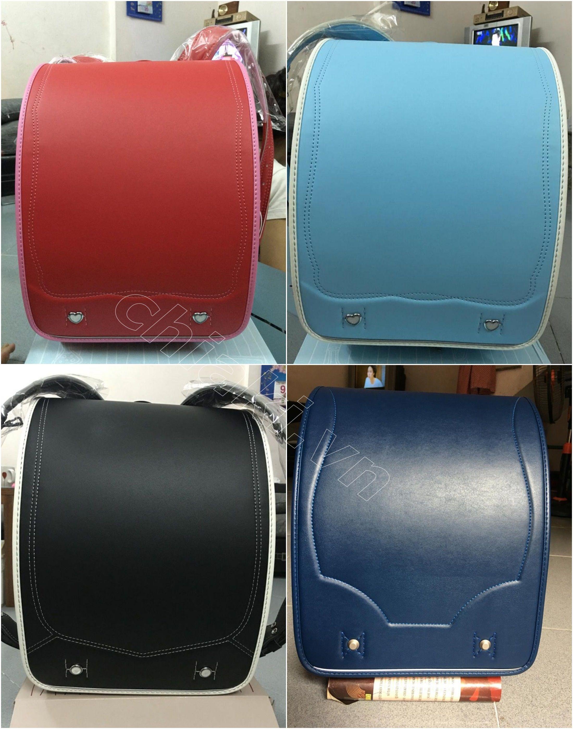 Cặp chống gù lưng Nhật Bản Randoseru cấp 2 khóa cơ có nhiều màu sắc cho mẹ lựa chọn