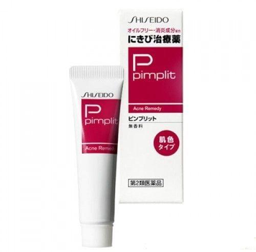 Shiseido pimplit Nhật Bản 15g trị mụn trứng cá hiệu quả