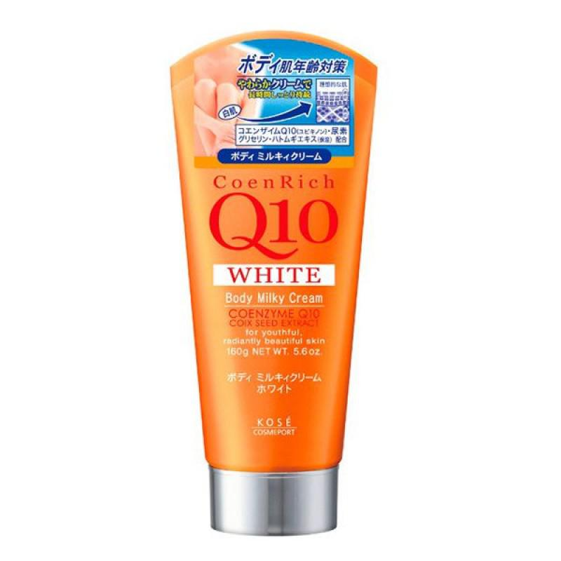 Kem dưỡng trắng da toàn thân Kose Q10 – Coen Rich Q10 Body Milky Cream