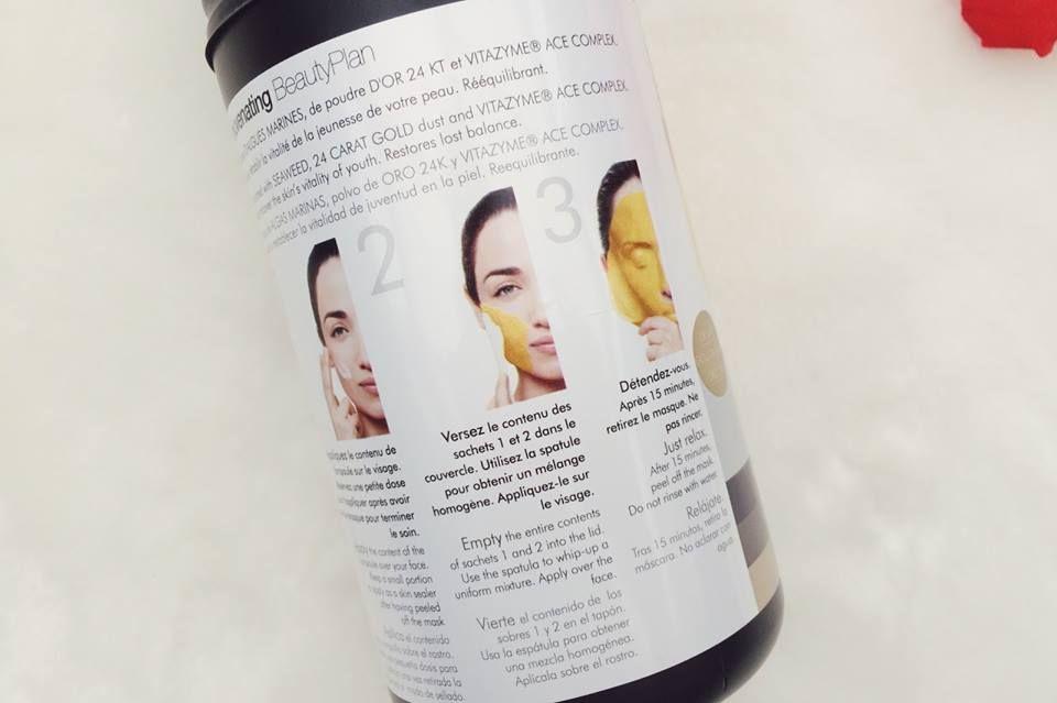 Mặt nạ vàng 24k Casmara Luxury Algae Peel-off Mask 2