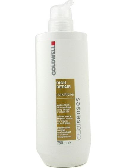 Dầu xả Goldwell Rich Dualsense 750ml phục hồi tóc khô, xơ, hư tổn