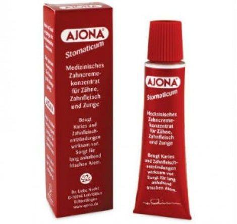 Kem đánh răng Ajona với công thức đặc biệt, chất lượng cao cấp giúp chống sâu răng, viêm nha chu và trị hôi miệng