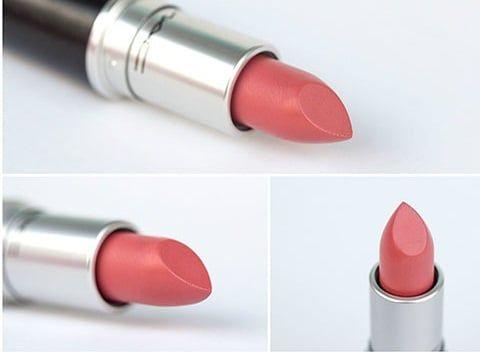 Son Mac Runway Hit tông nude màu hồng cam ấn tượng 4