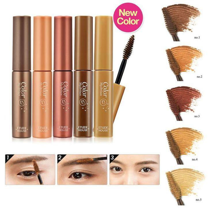 Mascara lông mày Color My Brows Etude House Hàn Quốc giúp lông mày vào nếp, có dáng tự nhiên