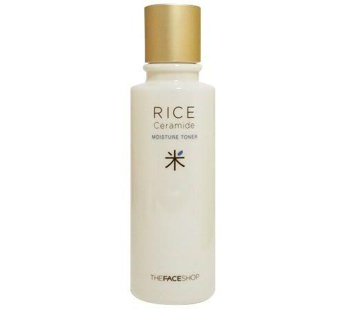 Nước hoa hồng gạo The Face Shop cho làn da sạch, se khít lỗ chân lông.