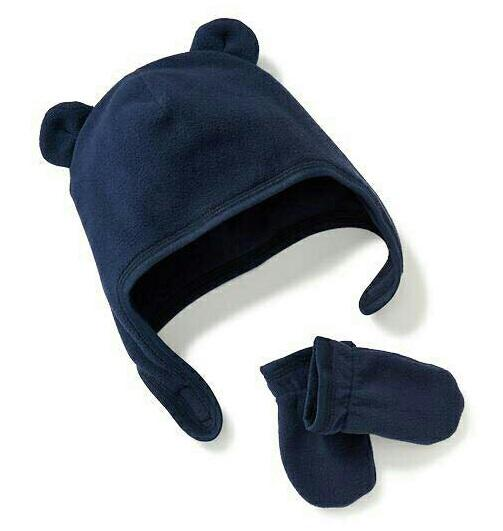 Set mũ Gap kèm găng cho bé
