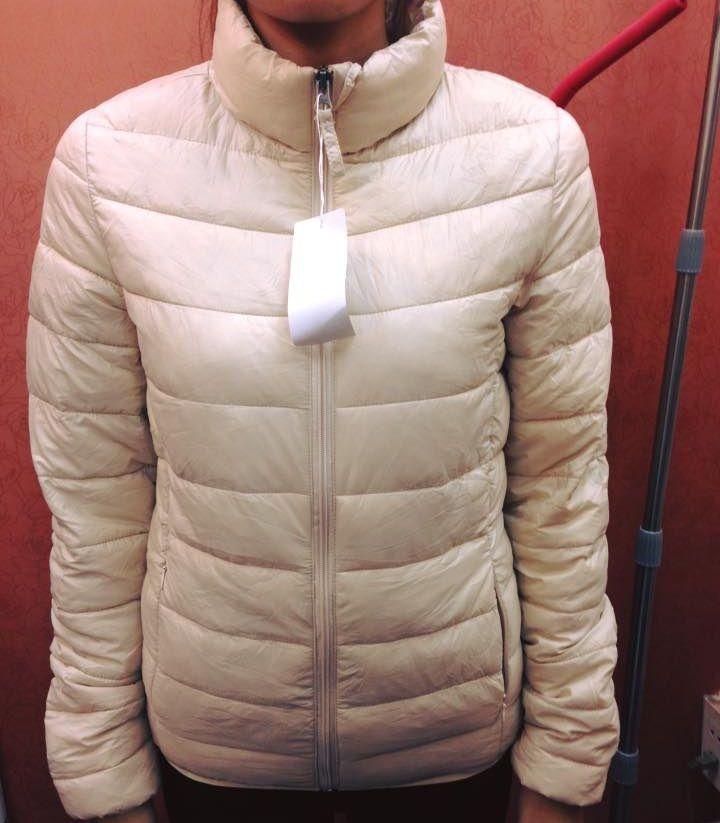 Áo phao Uniqlo siêu nhẹ nữ không mũ thời trang 4