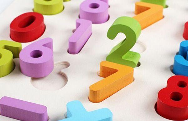 đồ chơi gỗ gcb - bảng số nổi ba82