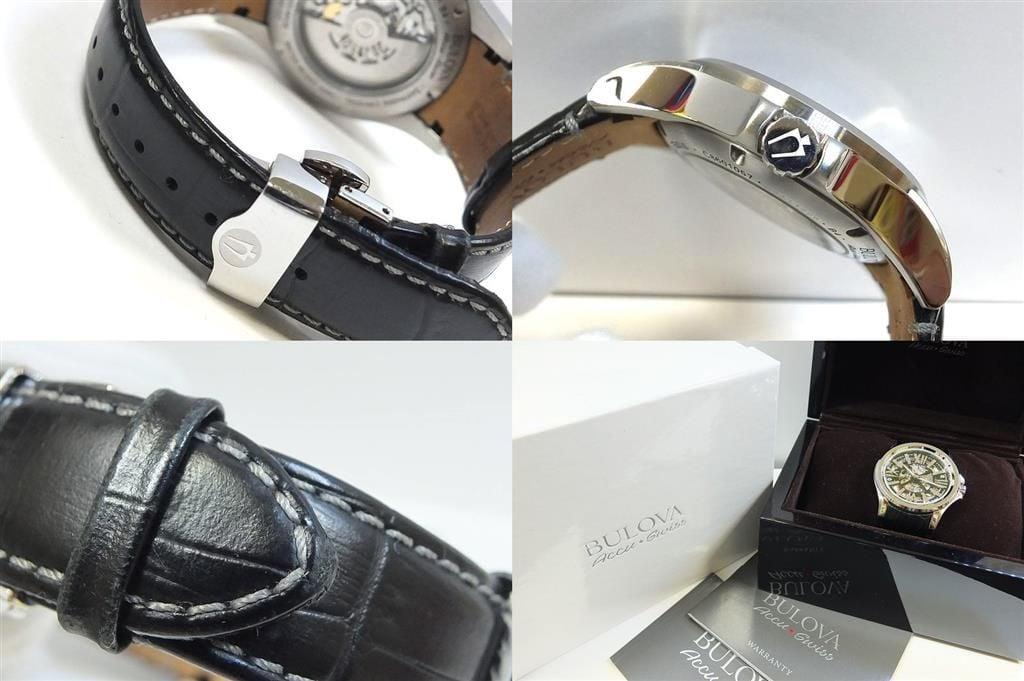 Chiếc đồng hồ Bulova Accu Swiss đẹp ở mọi góc cạnh