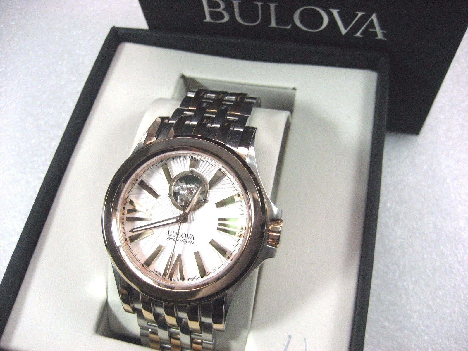 Cận cảnh chiếc đồng hồ nam Bulova
