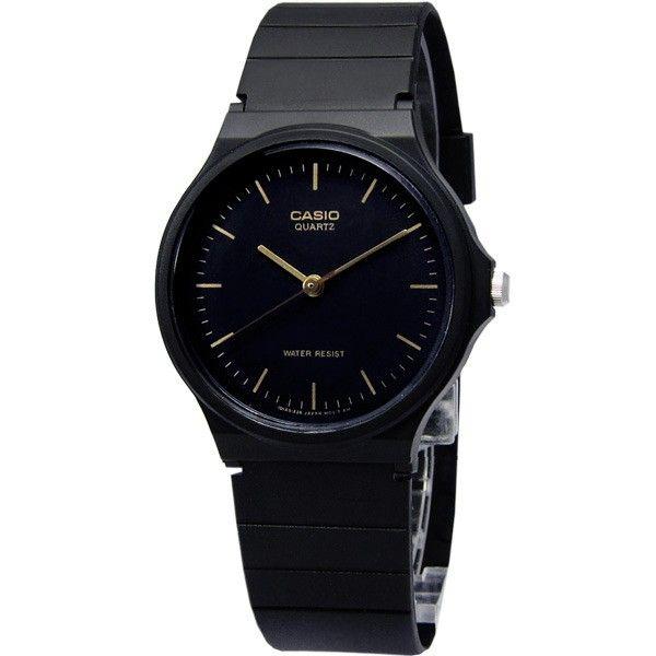 Casio MQ24-1E sử dụng tông màu đen chủ đạo, nam tính, mạnh mẽ