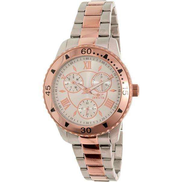 Chiếc đồng hồ Invicta nữ này sở hữu vẻ ngoài sang trọng và đẳng cấp