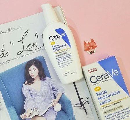 CeraVe Facial Moisturizing Lotion SPF30 là sản phẩm kem dưỡng ẩm chống nắng sử dụng ban ngày