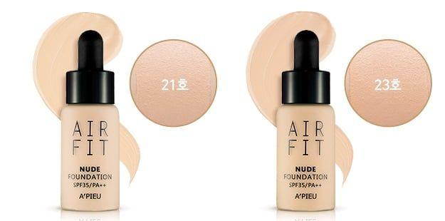 Kem nền Apieu Air Fit Nude Foundation 18g  3
