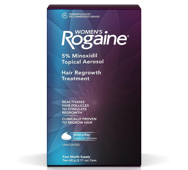 Kích thích mọc tóc Minoxidil cho nữ Women's Rogaine Once A Day Foam 4 Month Supply chứa 5% minoxidil