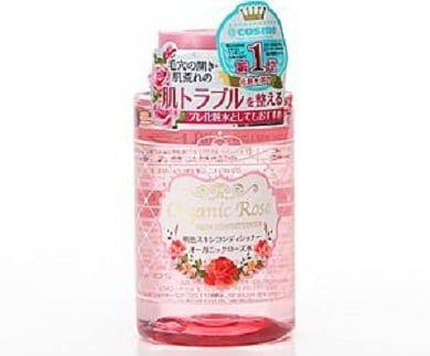 Nước hoa hồng Meishoku kết cấu phân tử nhỏ hơn lỗ chân lông sẽ thẩm thấu sâu và vào da giúp nuôi dưỡng tế bào từ bên trong