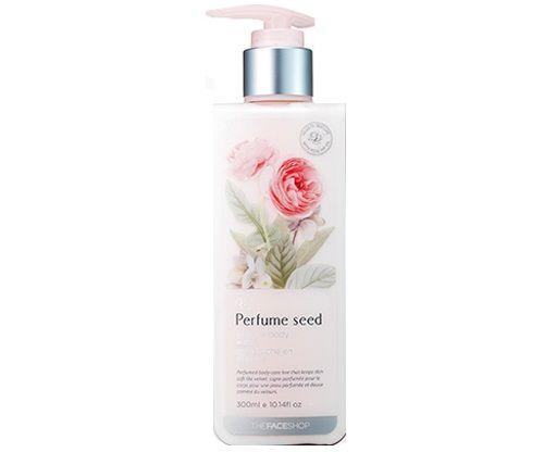 Sữa dưỡng thể Perfume Seed Velvet Body Milk hương nước hoa chiết xuất từ tinh dầu nụ tầm xuân