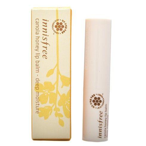Son dưỡng Innisfree – Canola Honey Lip Balmn chính là một giải pháp cho những người đang gặp vấn đề môi khô nứt nẻ