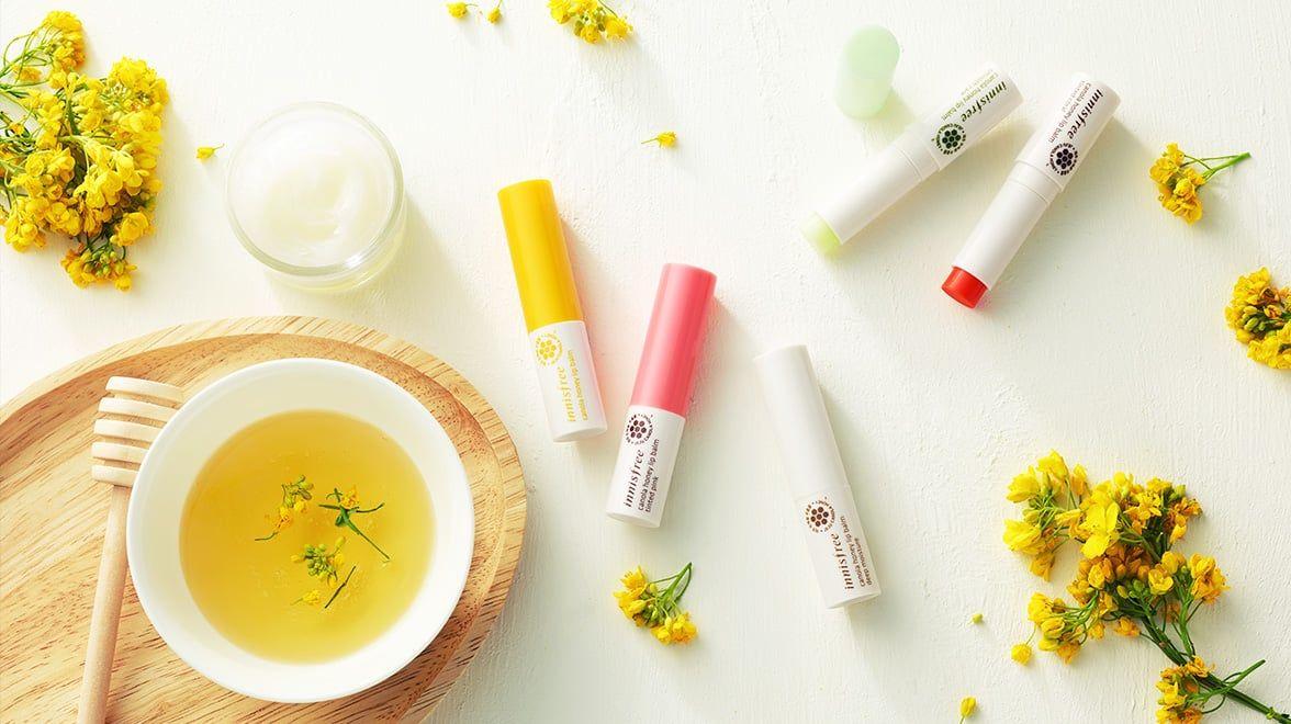 Son dưỡng môi Innisfree – Canola Honey Lip Balmn  4