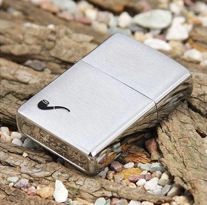 Bật lửa Zippo Pipe Lighters brushed chrome 200PL