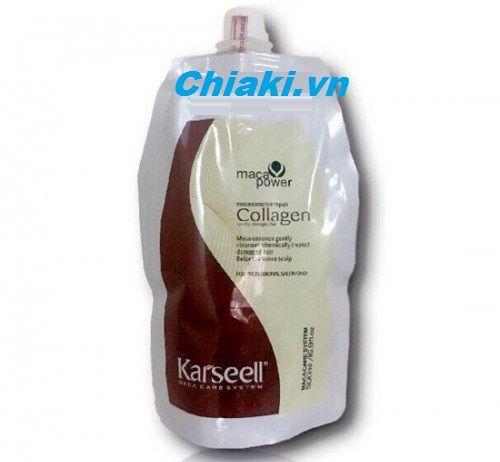 Dầu hấp tóc Collagen Karseell Maca giúp cho tóc siêu mềm mượt