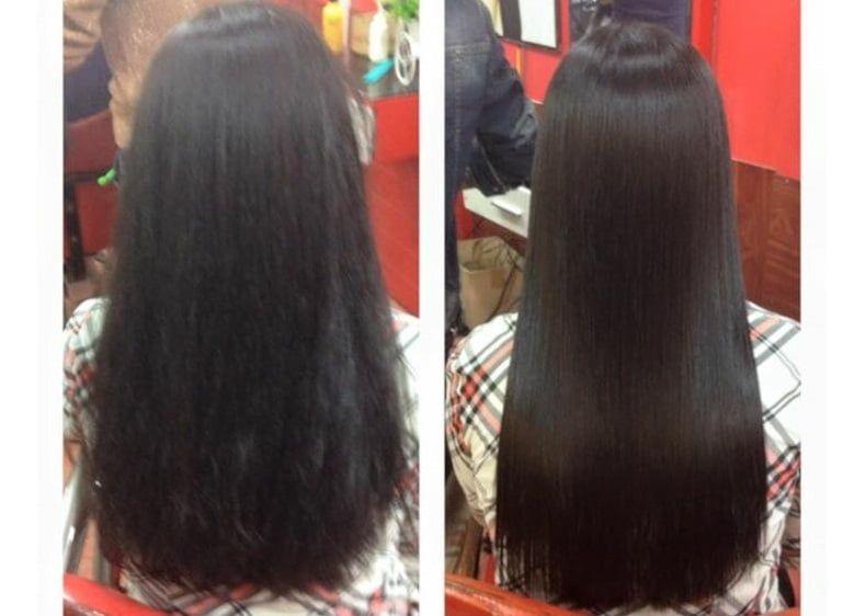 Kem ủ tóc Collagen Karseell Maca cung cấp các dưỡng chất, cân bằng độ ẩm, cung cấp collagen giúp phục hồi độ bóng mượt cho mái tóc