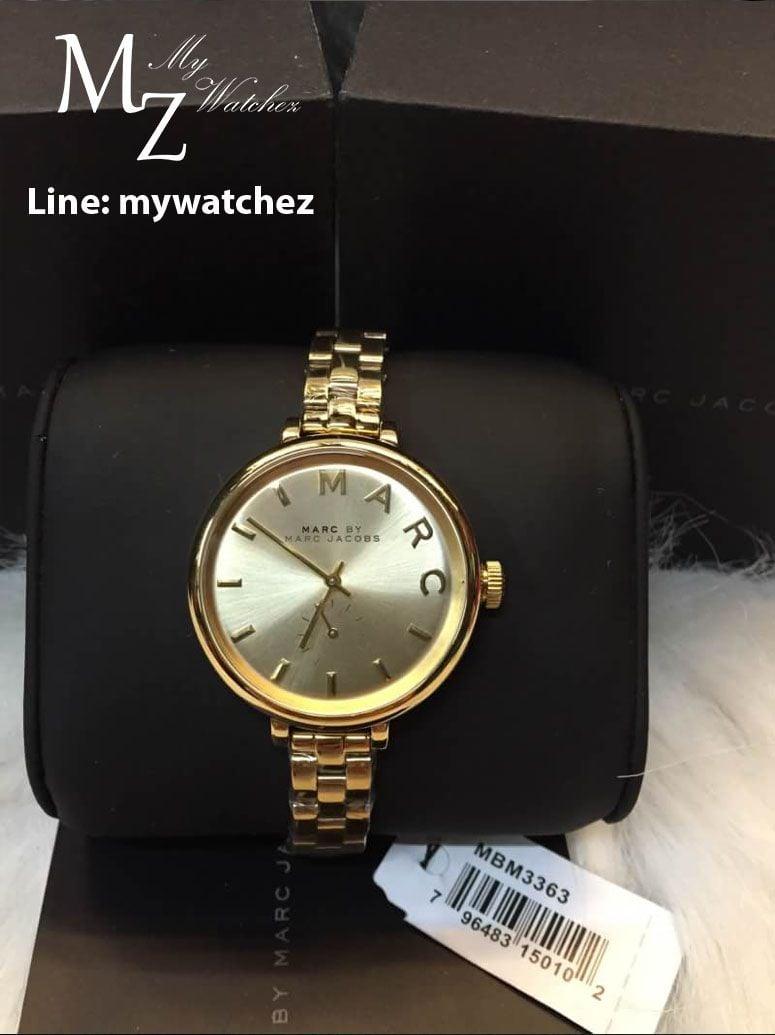 Cận cảnh chiếc đồng hồ Marc Jacobs MBM3363