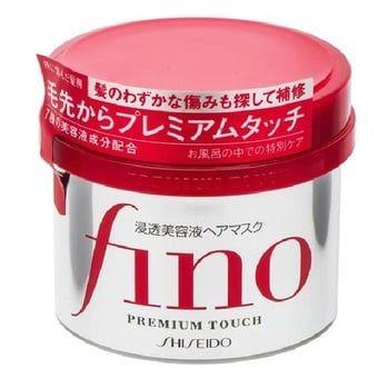 Kem ủ tóc Fino Shiseido 230g với chiết xuất chất Gelundaina hiệu quả có thể xâm nhập vào sâu bên trong