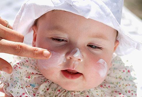 Dịu nhẹ cho làn da em bé