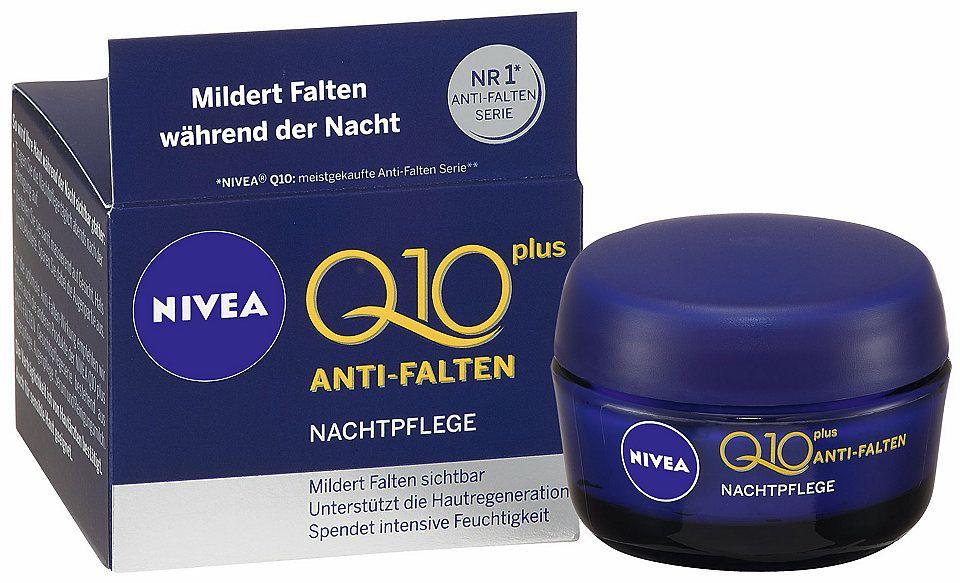 Kem dưỡng da ban đêm Nivea Q10 Plus hộp màu xanh