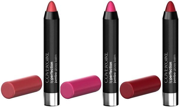 Son bút chì Covergirl Lip Perfection Jumbo Gloss Balm chiết xuất từ bơ hạt mỡ và xoài an toàn cho môi