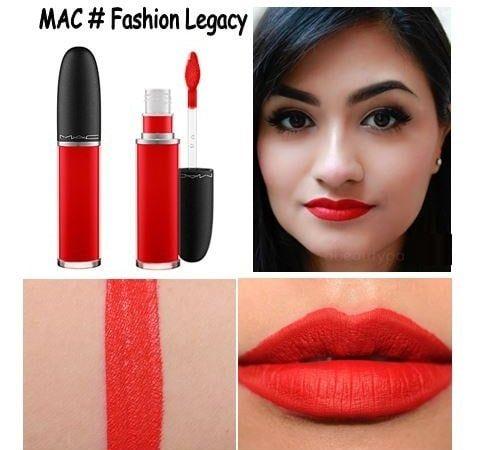Son kem Mac Retro Matte Liquid Lip Color mới 3