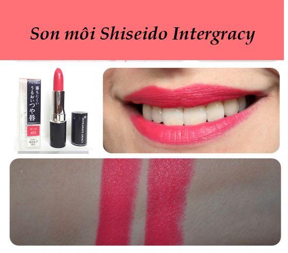 cách sử dụngson Shiseido Integrate Gracy