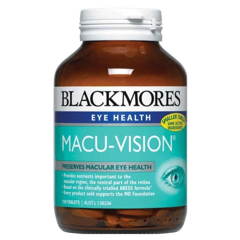 Viên uống bổ mắt Blackmores Macu-Vision chính hãng từ Úc
