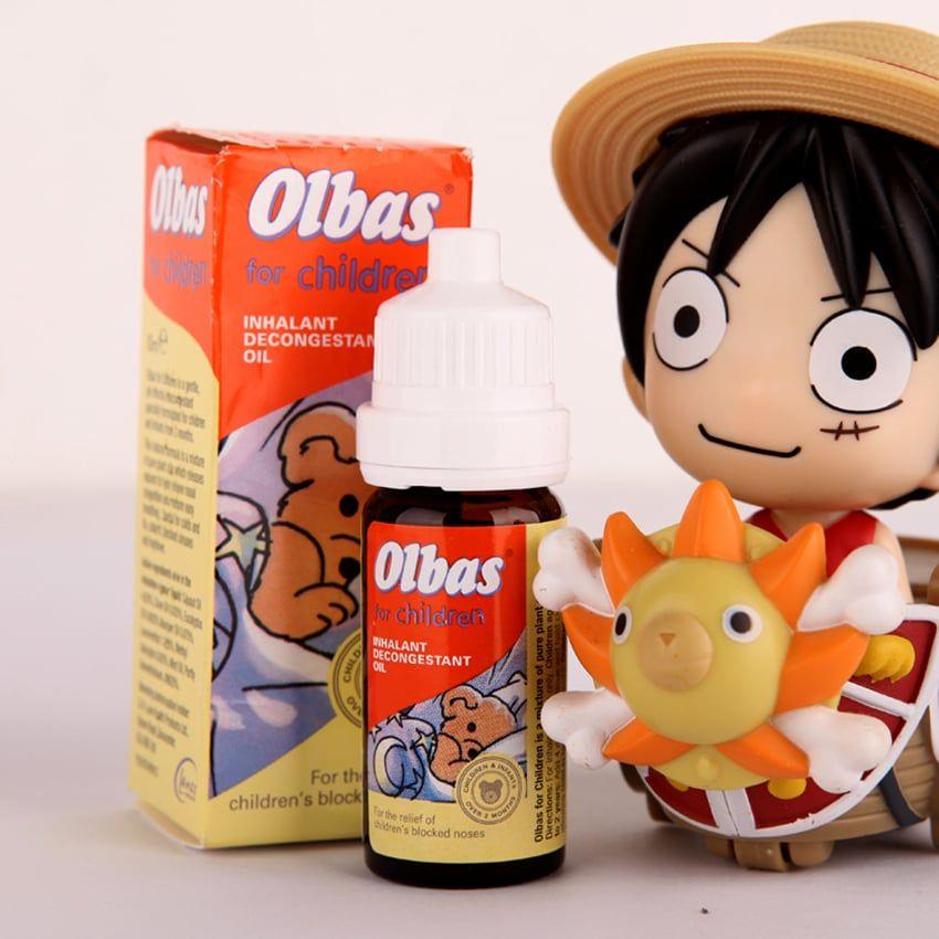 Olbas Oil dùng cho bé từ 3 tháng tuổi trở lên