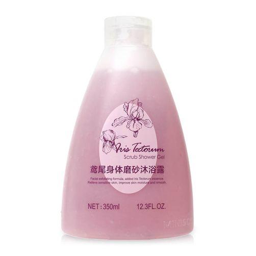 Gel tắm tẩy tế bào chết Miniso Nhật Bản được chiết xuất từ các loại tinh chất hoa, quả